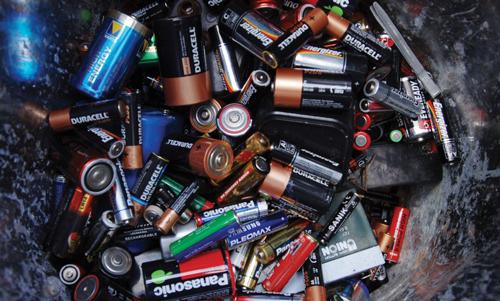 merkuri pada baterai bekas