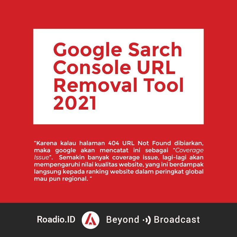Google URL Removal Tool